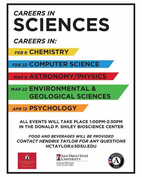 Careers in sciences flyer