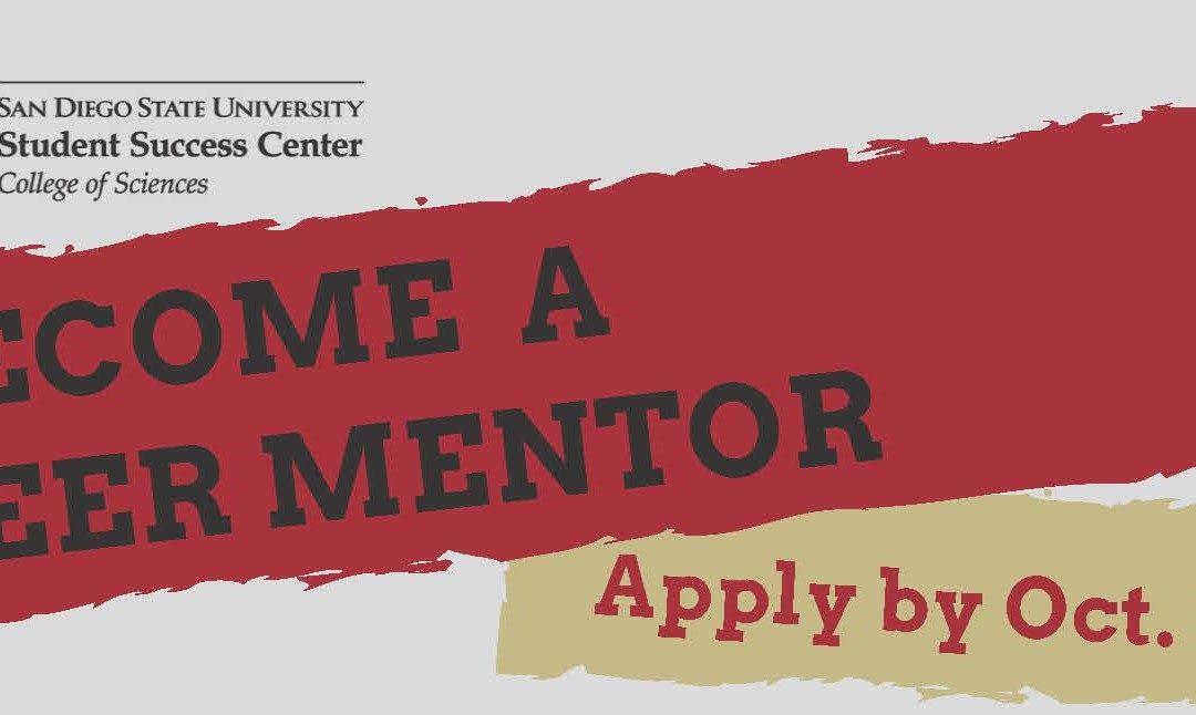 peer mentor application banner